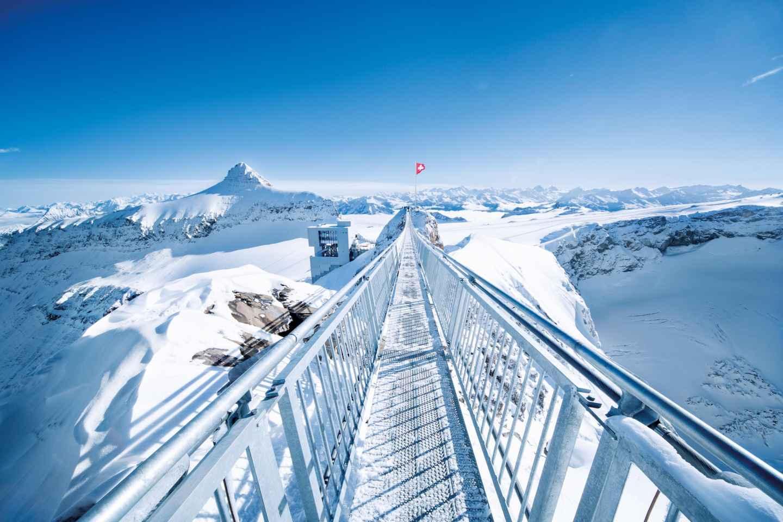 Ab Montreux: Tagestour Riviera Col du Pillon & Glacier 3000