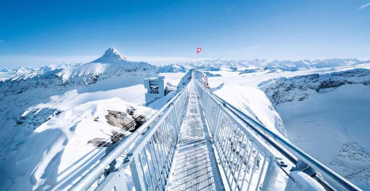 Viaje de día completo a Riviera Col du Pillon y Glacier 3000