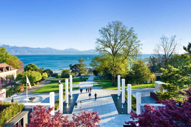 Ab Genf: Tagestour Lausanne & Montreux mit Bootsfahrt