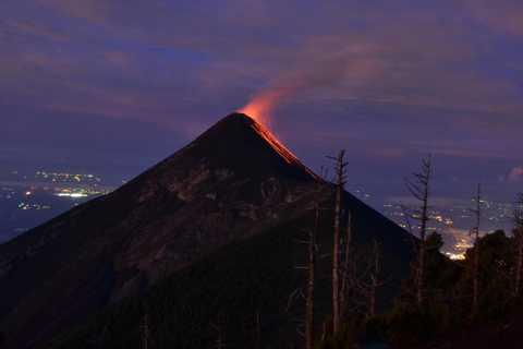 Overnight Volcano Acatenango Hiking Adventure