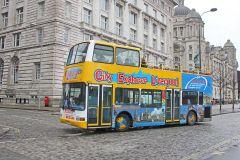 Liverpool: Bilhete de 24 Horas para o Ônibus Hop-On Hop-Off