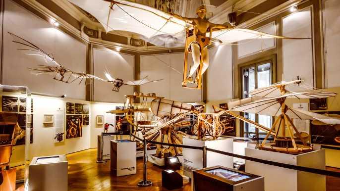 Leonardo3 - ticket de entrada al museo El Mundo de Leonardo
