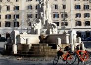 Geschmäcke und Sehenswürdigkeiten von Rom Private Bike Tour