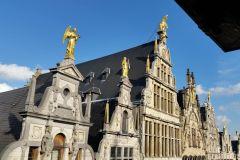 Antuérpia: passeio a pé de Steen até a Estação Central