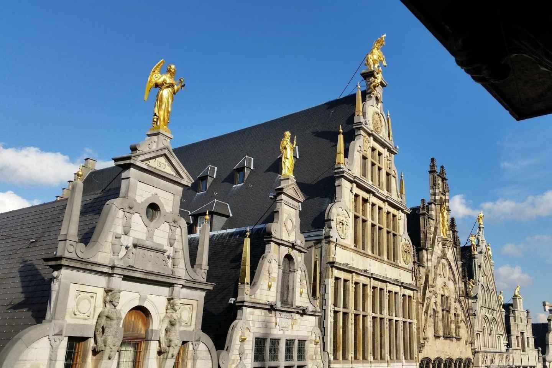 Antwerpen: Rundgang von der Burg Steen zum Hauptbahnhof