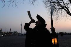 Düsseldorf: visita guiada com um vigia noturno