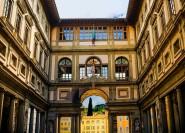 Florenz: Uffizien ohne Einstieg und geführte Tour