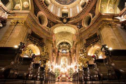 Viena: Navidad y concierto de Año Nuevo en iglesia San Pedro