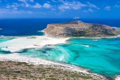 Desde Rétino: isla Gramvousa y bahía de Balos