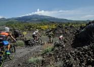 Ätna: Halbtägige Mountainbiketour auf dem Ätna