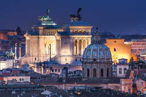 Rom: Private Sightseeingtour am Abend