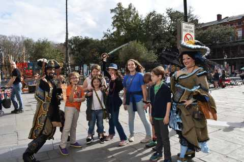 New Orleans Kids and Family French Quarter Walking Tour