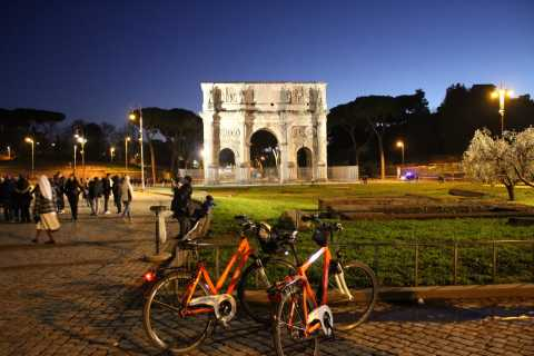 Rome by Night: Bike Tour with Pizza