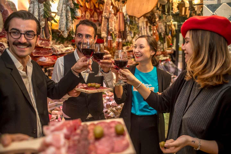 Rom: 4-Stunden-Tour mit traditionellen Speisen & Weinproben