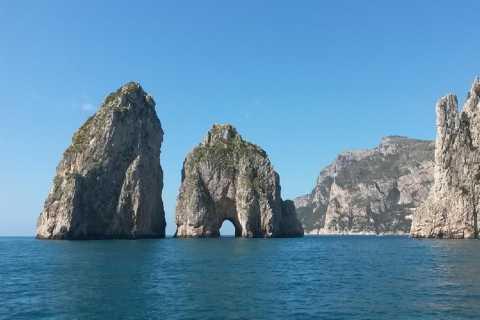 Private Boat Tour around Capri Island