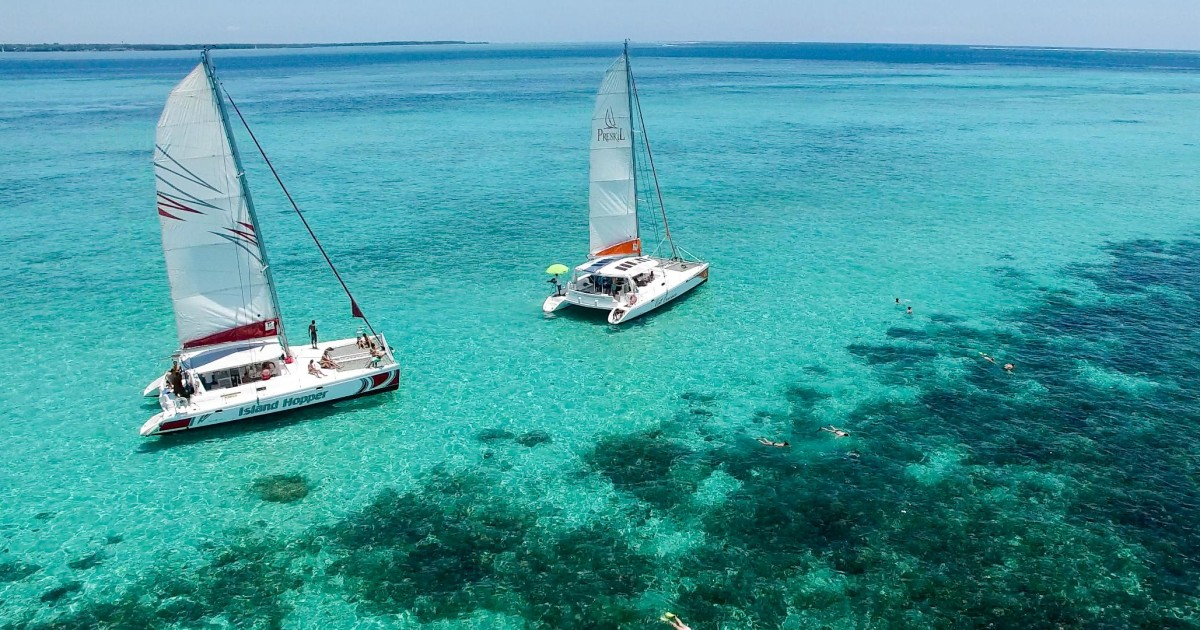 Full-Day Cruise to Ile aux Cerfs with BBQ Lunch Included