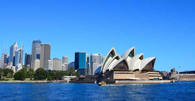 Sydney Harbour Lunch Cruise with Bondi Beach and City Tour