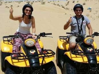 Hurghada: 3-stündige Wüstensafari mit dem Quad & Kamelritt