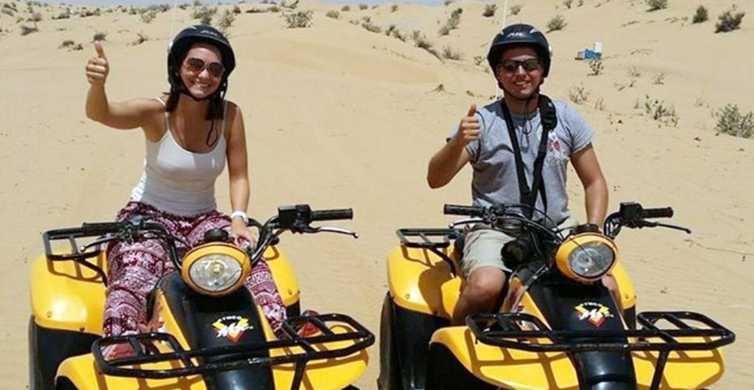 Hurghada: safari nel deserto di 3 ore in quad e cammellata