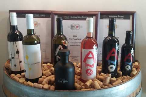 From Chania: 4WD Safari with Olive Oil and Wine Tastings