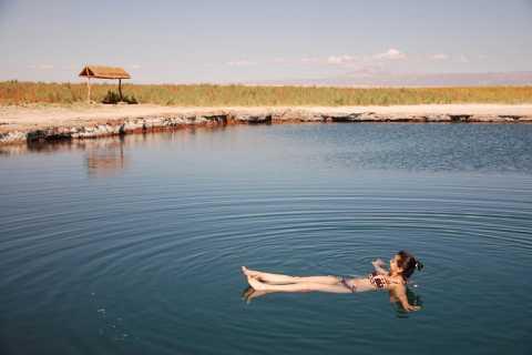 Lagoas Cejar e Tebinquinche saindo de San Pedro de Atacama