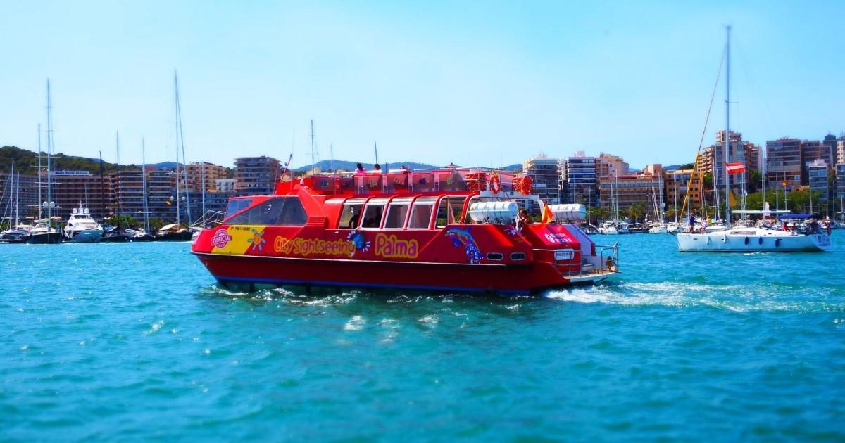 Palma de Mallorca: 24-Hour Hop-On Hop-Off Sightseeing Boat