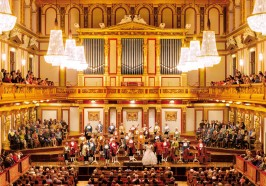 seværdigheder i Wien - Wien: Mozart-koncert i Den Gyldne Sal