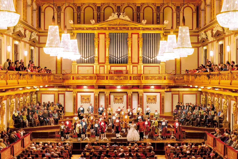 Wien: Tickets für Mozart-Konzert im Goldenen Saal