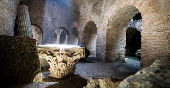 Colosseum Underground Tour with Roman Forum