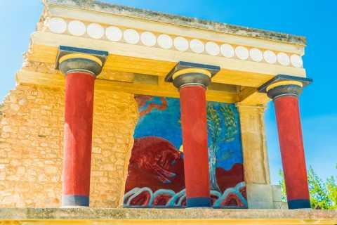 Palazzo di Cnosso: ingresso prioritario con tour guidato