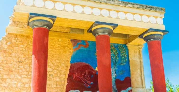 Knossos Palace Skip-the-Line Entry with Guided Walking Tour