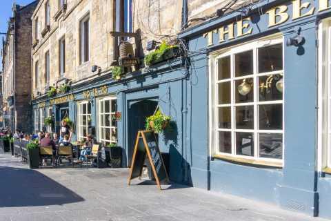 Tour de degustación de comida de Edimburgo con un local