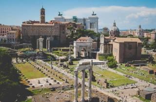 Rom: Private halbtägige Stadtrundfahrt mit Pizza & Gelato