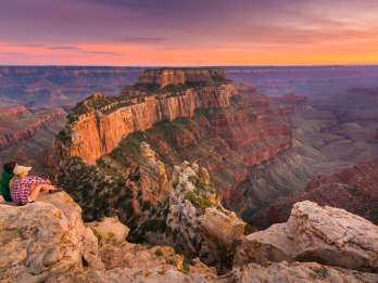 Grand Canyon-Nationalpark South Rim mit Snacks & Mittagessen