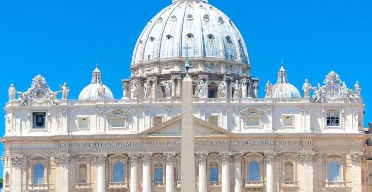 Roma: audiencia papal con asistente y recogida