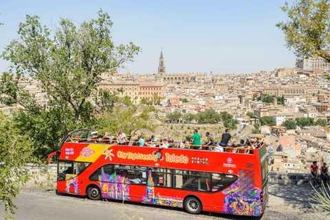 Toledo: Hop-On/Hop-Off-Bustour, Rundgang & Alcazar
