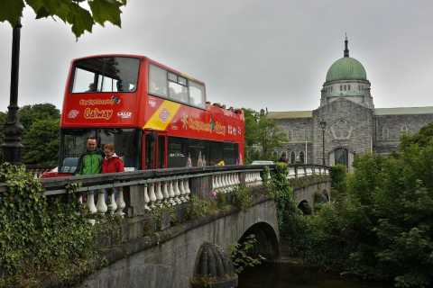 Galway: Hop-On Hop-Off Sightseeing Buss Tour
