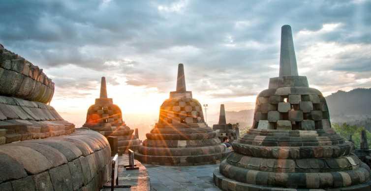 Borobudur Sunrise, Merapi Volcano & Prambanan Full Day Tour