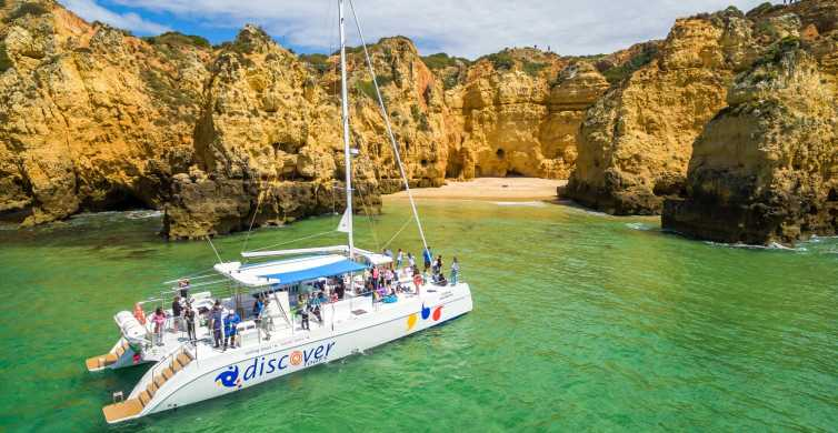 From Lagos: Algarve Golden Coast 4-Hour Cruise