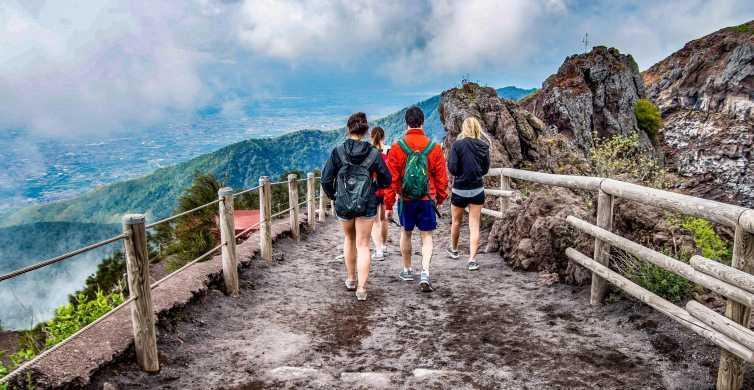 Scopri il monte Vesuvio: tour privato di 3 ore da Pompei