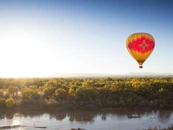 New Mexiko - Ballonfahrt über dem Rio Grande Valley
