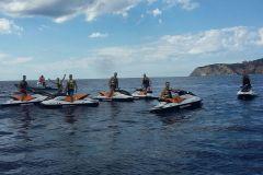Ibiza: Passeio de Jet Ski à Ilha Margarita 1 Hora