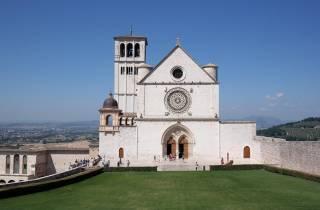 Von Rom: Ganztägige Assisi & Orvieto Halbprivat Tour