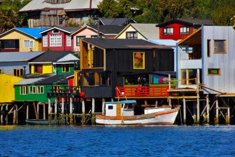 Chiloé: Island Tour com Castro e Dalcahue de Puerto