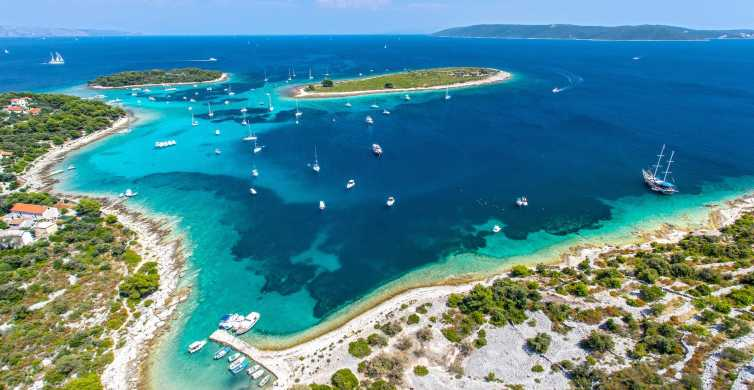 Ab Trogir oder Split: Blaue Lagune & 3 Inseln Tour