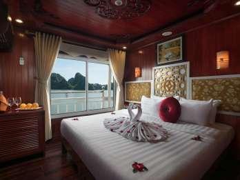Halong-Bucht: 3-tägige 4-Sterne Kreuzfahrt mit Transfer