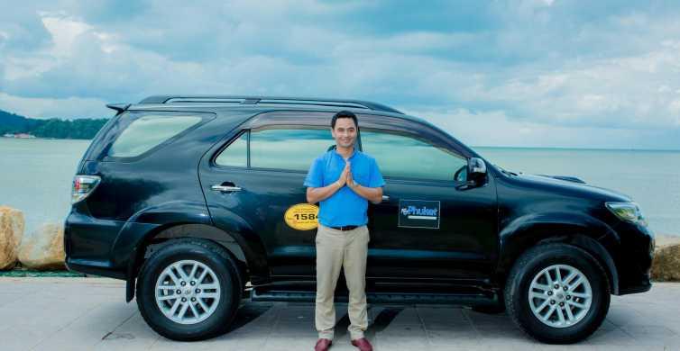 Koh Samui: Private Car or Minibus Rental with Driver