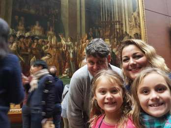 Louvre: Kinderfreundliche Privat-Tour für Familien