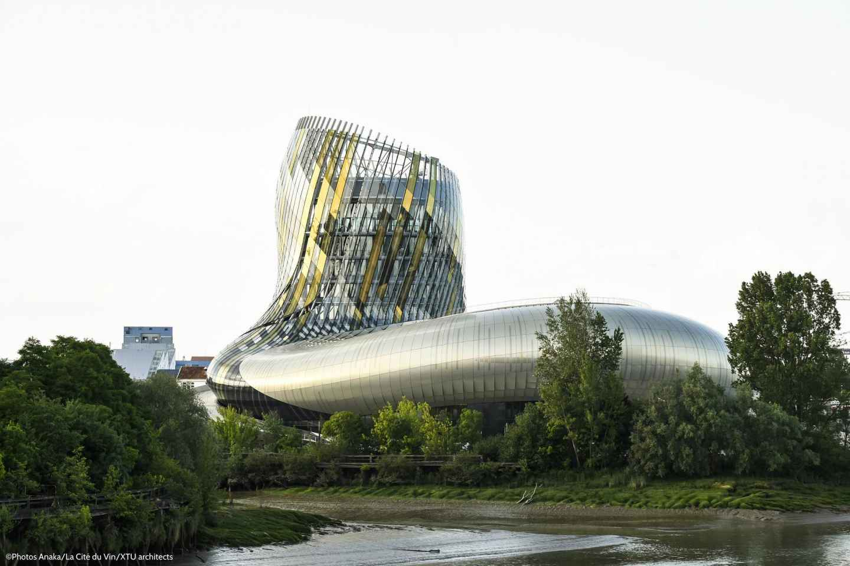 Bordeaux: La Cité du Vin Ticket und Weinprobe