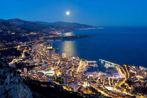 Ab Nizza: Abendtour nach Monaco und Monte-Carlo